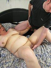 Horny mature slut sucking and fucking