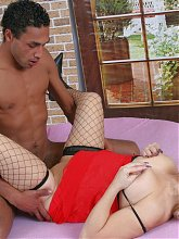 fucking the blonde mature